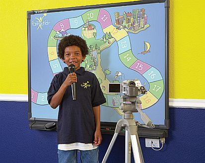 FasTracKids Videotaping Image