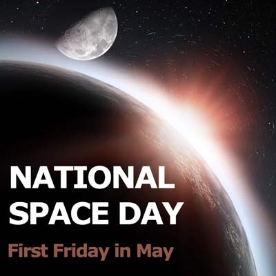 National Space Day Image