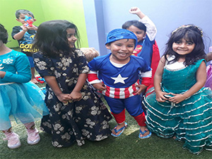 kids dress up party