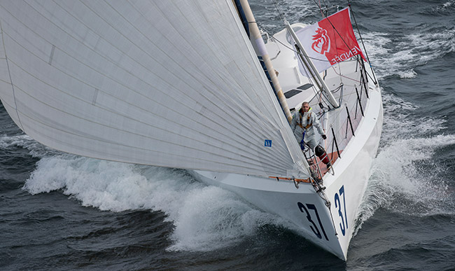 Rich Wilson Sailing Image