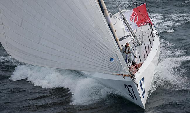Rich Wilson Sailing Image